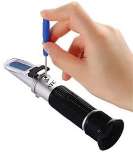 Refractometer Calibration Adjustment