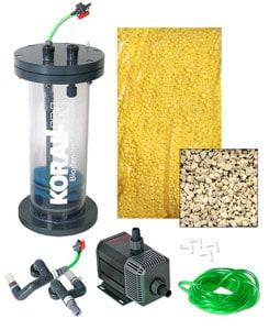 Korallin BioDenitrator Nitrate Filter Kit